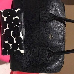 Kate Spade purse plus wallet
